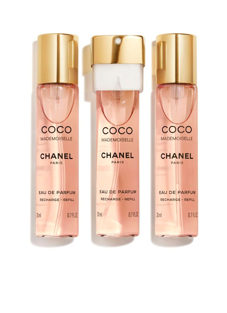 CHANEL - EAU DE PARFUM TWIST AND SPRAY RECHARGE SET DE 3 - null