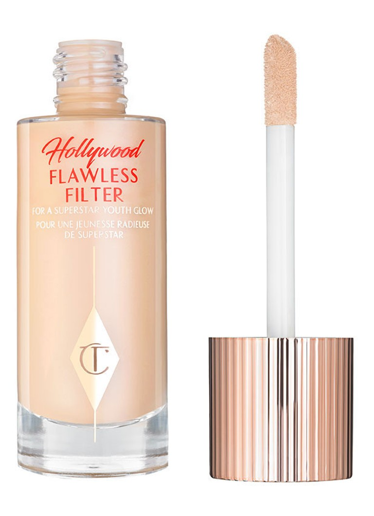 Charlotte Tilbury - Hollywood Flawless Filter - base, highlighter et correcteur - 2 Light
