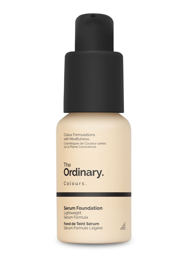 The Ordinary - Fond de teint Sérum SPF15 - 1.0N