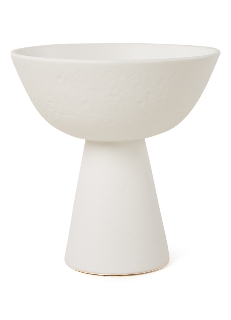 Urban Nature Culture - Plat sur pied 21 cm - Blanc